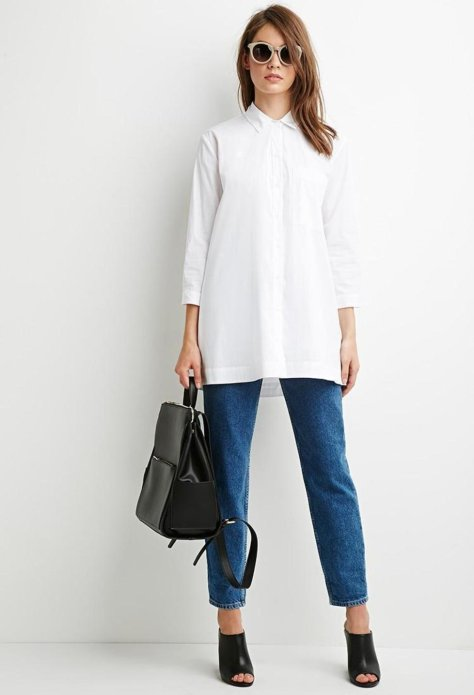 white-forever21-oversized-longline-shirt-screen
