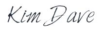 Kim Dave Signature 2015