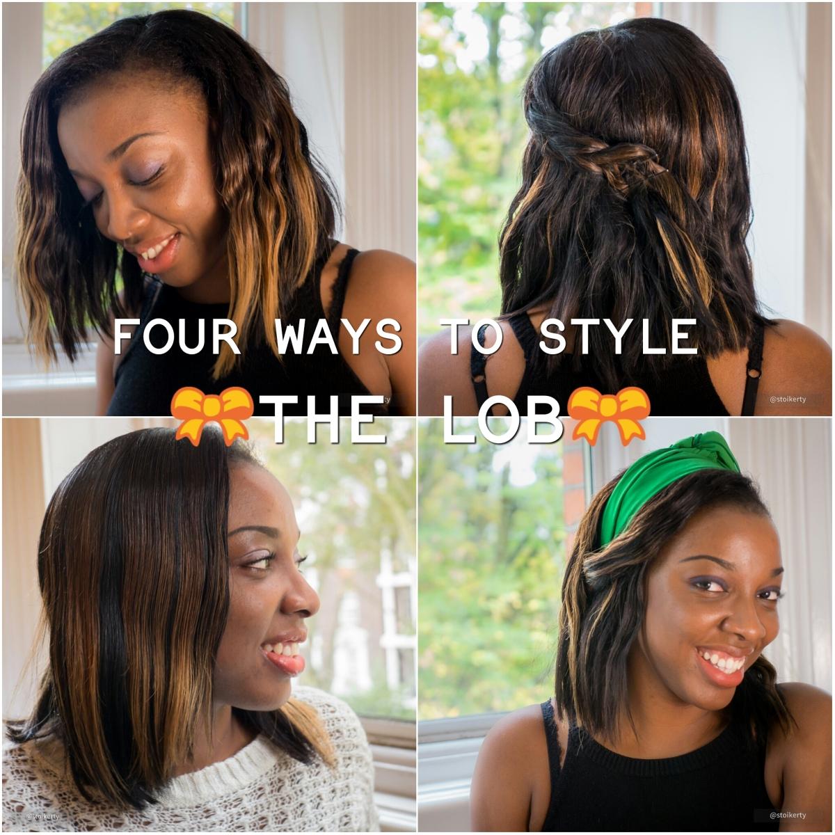 4 Ways to Style the LOB(Long Bob)
