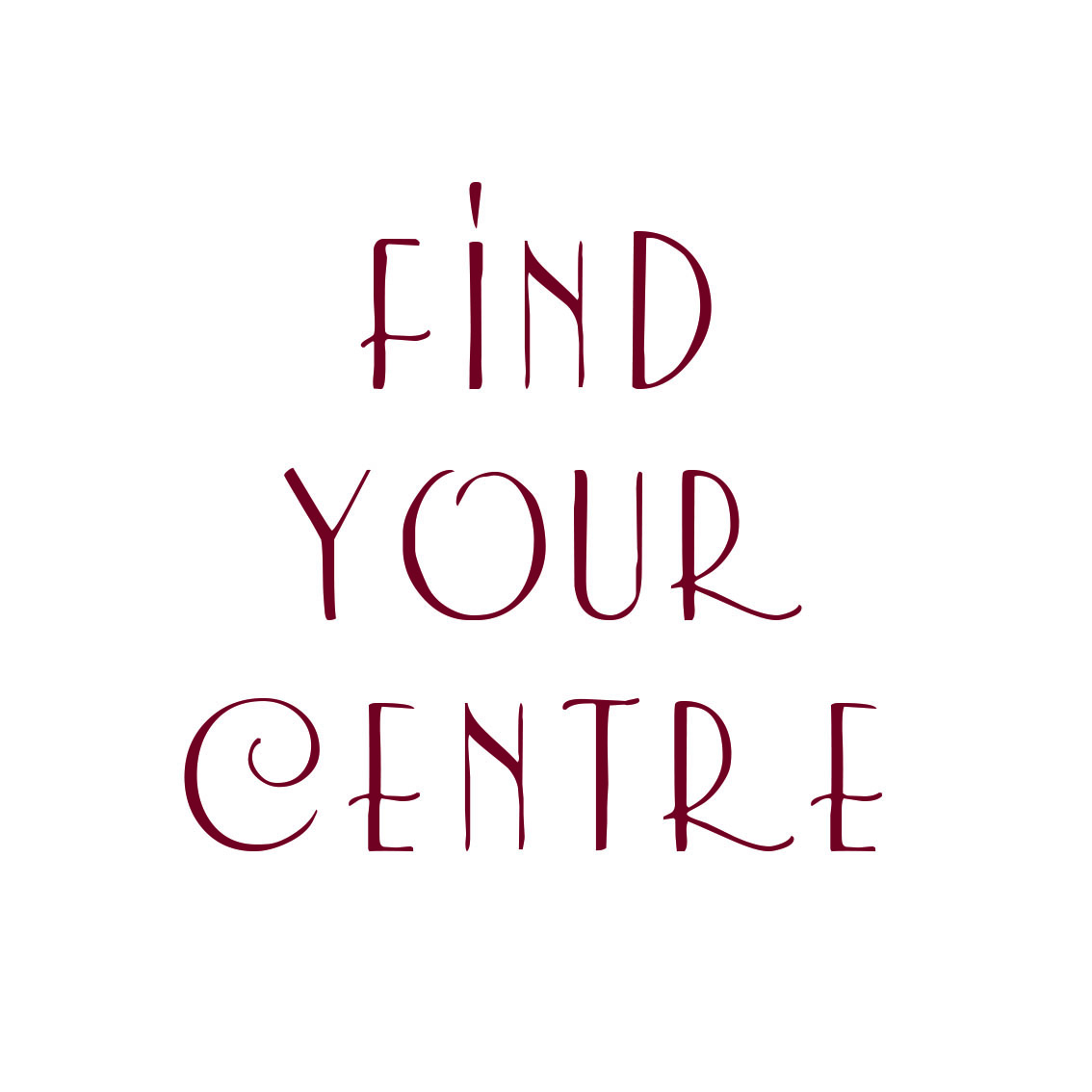 find your centree
