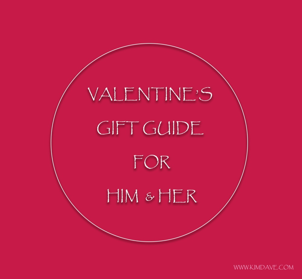 GIFT GUIDE VALENTINE