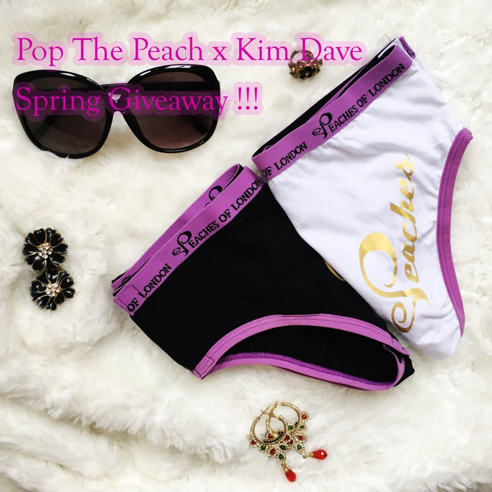 pop the peach giveaway