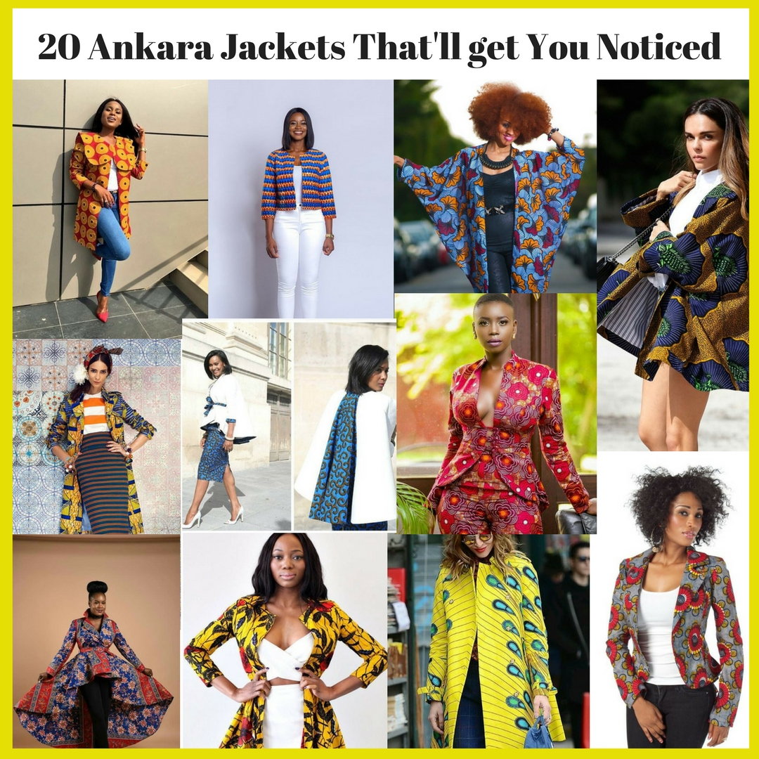 Ankara Jacket Style That Will Get You Noticed Kim Dave